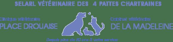 logo nouvelle couleur clinique vétérinaire Chartres